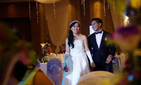 bridal wedding reception rizal
